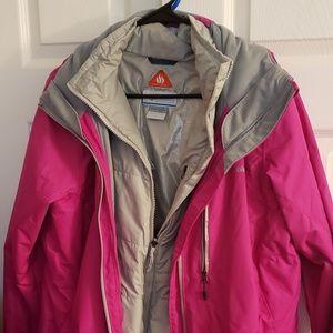 Women's Columbia Omni Heat Coat